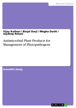 Antimicrobial Plant Products for Management of Phytopathogens