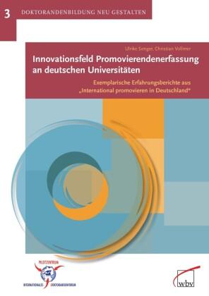 Innovationsfeld Promovierendenerfassung an deutschen Universitäten