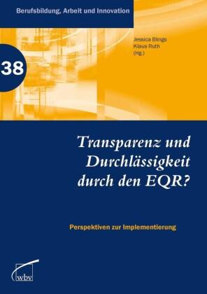 Transparenz und Durchlässigkeit durch den EQR?