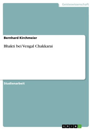 Bhakti bei Vengal Chakkarai