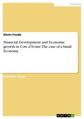 Financial Development and Economic growth in Cote d'Ivoire: The case of a Small Economy