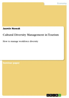Cultural Diversity Management in Tourism