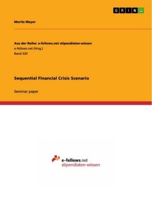 Sequential Financial Crisis Scenario
