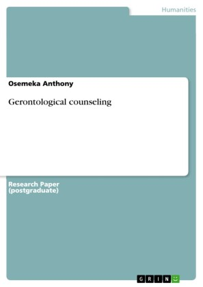 Gerontological counseling