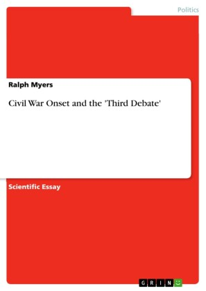 Civil War Onset and the 'Third Debate'