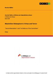 Maximilien Robespierre's Virtue and Terror