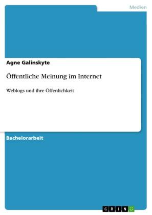Öffentliche Meinung im Internet