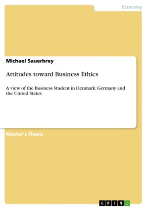 Attitudes toward Business Ethics