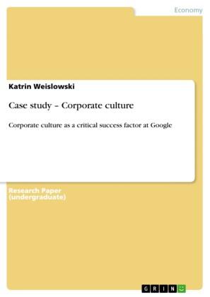 Case study - Corporate culture