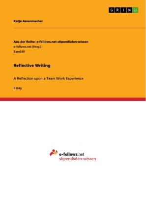 Reflective Writing