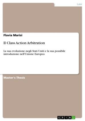 Il Class Action Arbitration