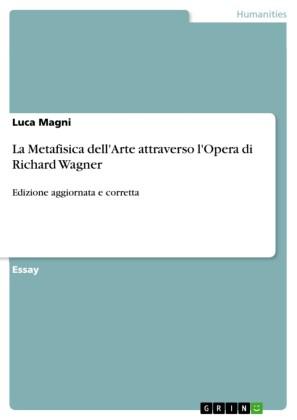 La Metafisica dell'Arte attraverso l'Opera di Richard Wagner