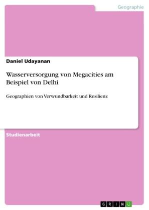 Wasserversorgung von Megacities am Beispiel von Delhi