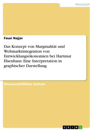 Das Konzept von Marginalität und Weltmarktintegration von Entwicklungsökonomien bei Hartmut Elsenhans: Eine Interpretation in graphischer Darstellung