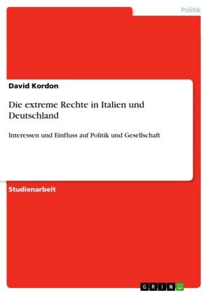 Die extreme Rechte in Italien und Deutschland