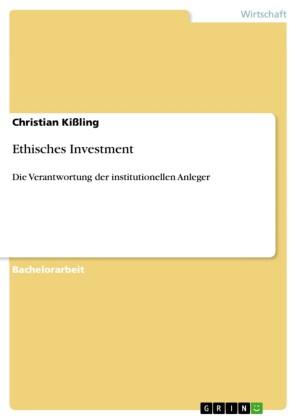 Ethisches Investment