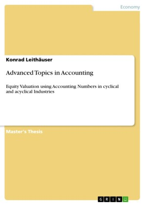 Advanced Topics in Accounting