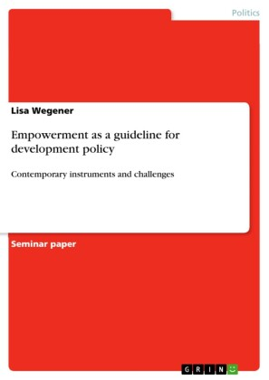 Empowerment as a guideline for development policy
