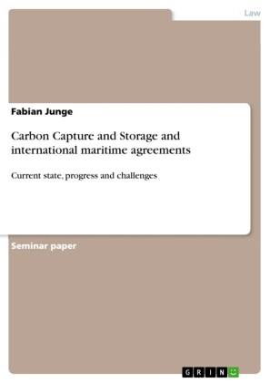 Carbon Capture and Storage and international maritime agreements