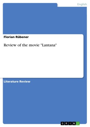 Review of the movie 'Lantana'