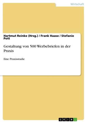 Gestaltung von 500 Werbebriefen in der Praxis