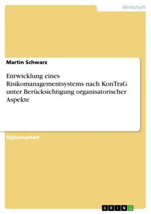 Entwicklung eines Risikomanagementsystems nach KonTraG unter Berücksichtigung organisatorischer Aspekte