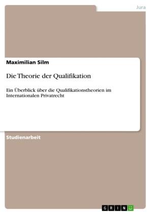 Die Theorie der Qualifikation
