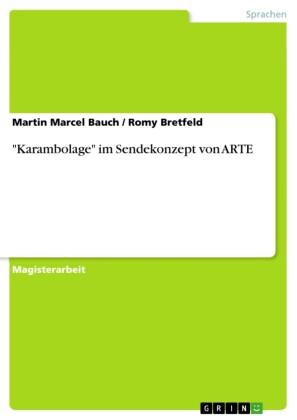 'Karambolage' im Sendekonzept von ARTE