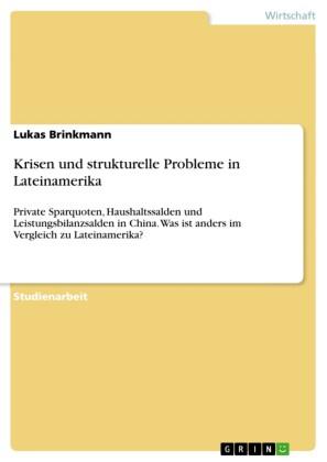 Krisen und strukturelle Probleme in Lateinamerika