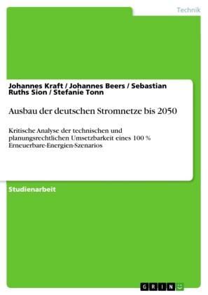 Ausbau der deutschen Stromnetze bis 2050