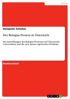 Der Bologna Prozess in Österreich