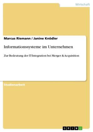 Informationssysteme im Unternehmen