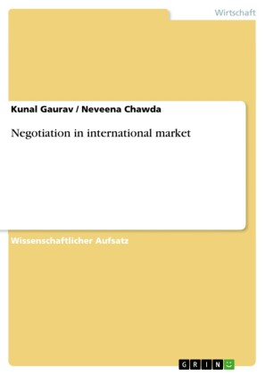 Negotiation in international market