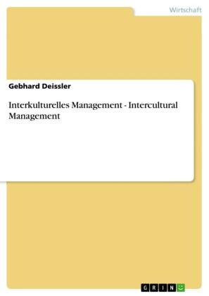 Interkulturelles Management - Intercultural Management