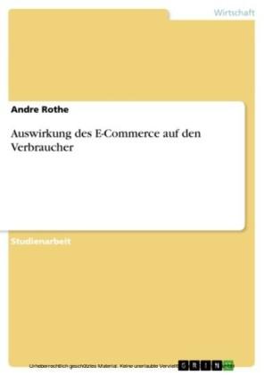 Auswirkung des E-Commerce auf den Verbraucher