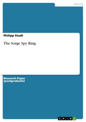 The Sorge Spy Ring