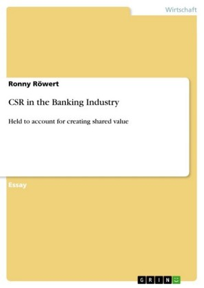 CSR in the Banking Industry