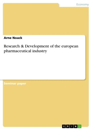 Research & Development of the european pharmaceutical industry