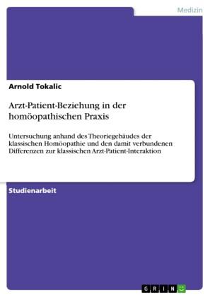 Arzt-Patient-Beziehung in der homöopathischen Praxis