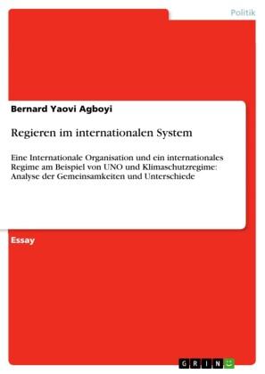 Regieren im internationalen System