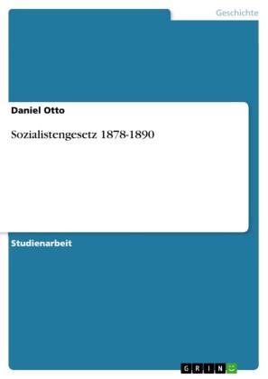 Sozialistengesetz 1878-1890