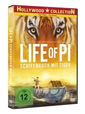 Life of Pi - Schiffbruch mit Tiger, 1 DVD Cover