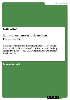 Naturdarstellungen in deutschen Kunstmärchen