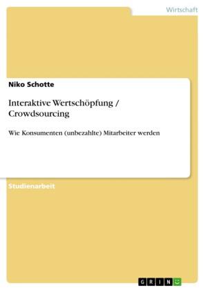 Interaktive Wertschöpfung / Crowdsourcing