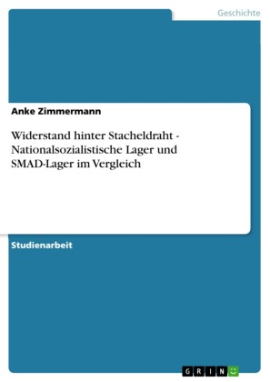 Widerstand hinter Stacheldraht - Nationalsozialistische Lager und SMAD-Lager im Vergleich
