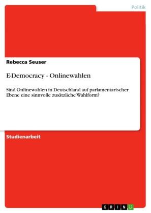 E-Democracy - Onlinewahlen