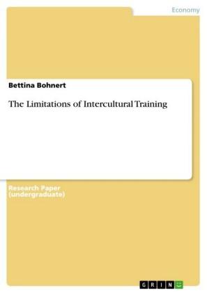 The Limitations of Intercultural Training