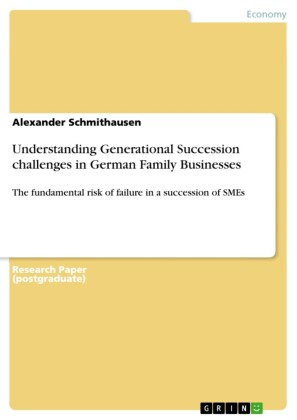 Understanding Generational Succession challenges in German Family Businesses
