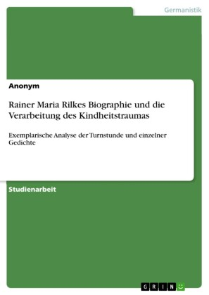 Rainer Maria Rilkes Biographie und die Verarbeitung des Kindheitstraumas