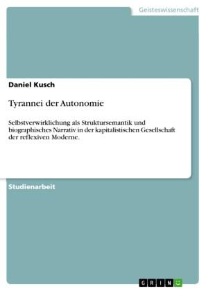 Tyrannei der Autonomie